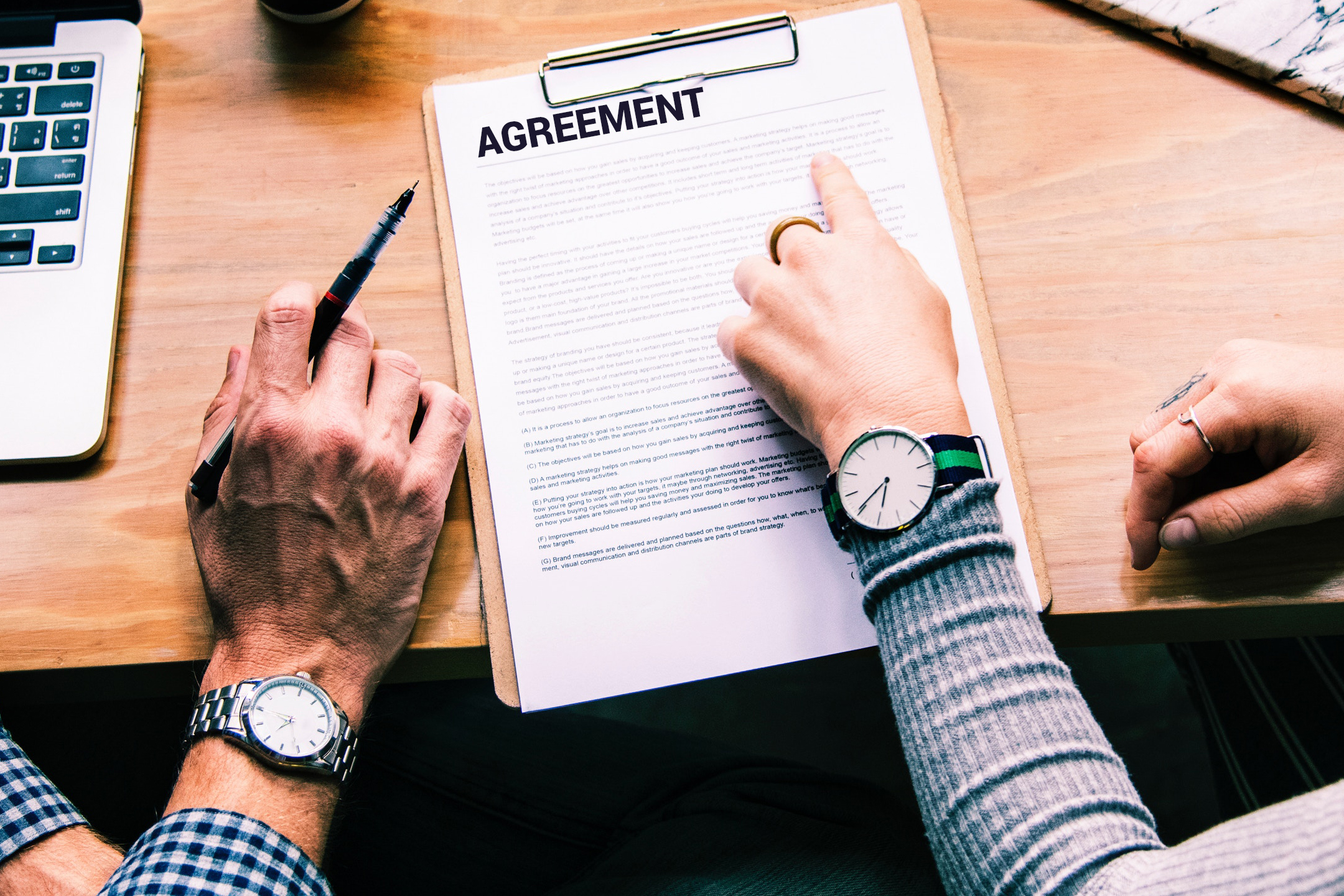 Agreement on Warranty Coverage