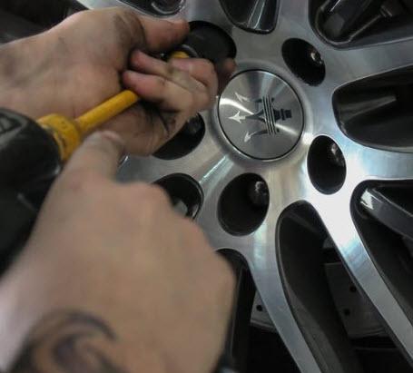 repair tire