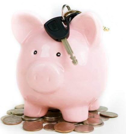 Discount piggy bank