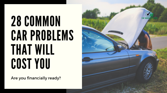 28 common car problems that will cost you
