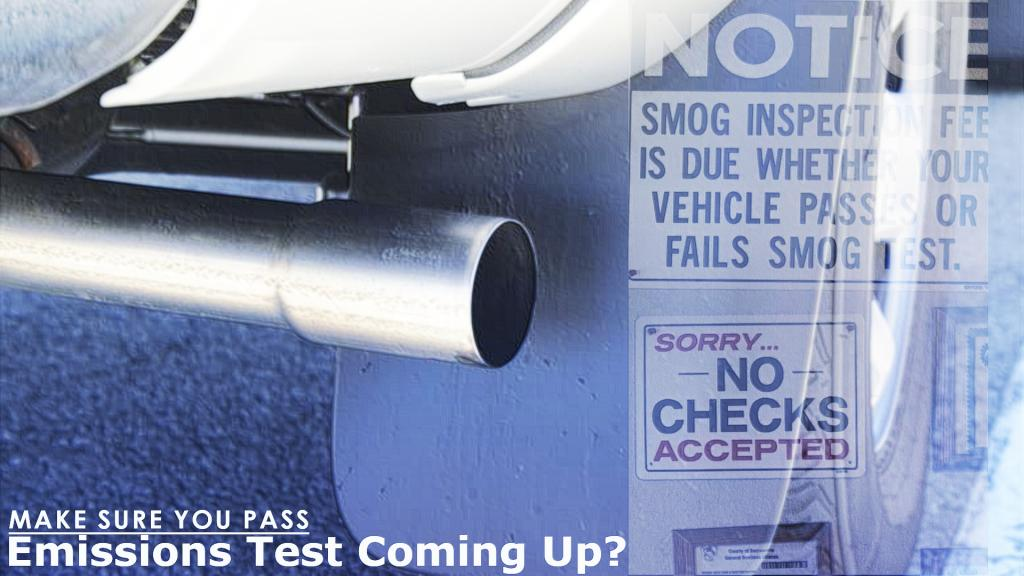 what to do to pass your emissions test