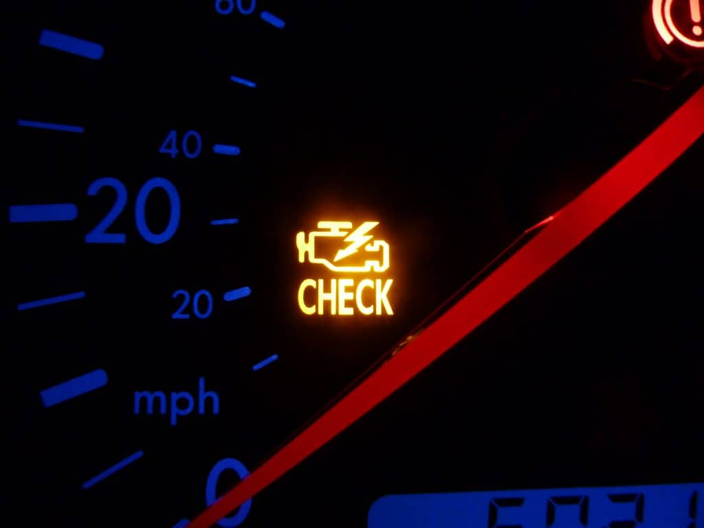 Have a Blinking Check Engine Light? Here are 4 Reasons Why it May Be On
